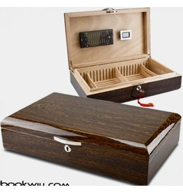 Bookwill Humidor Mahony High  Polished
