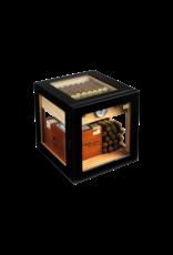 Adorini Adorini humidor Cube Deluxe Black