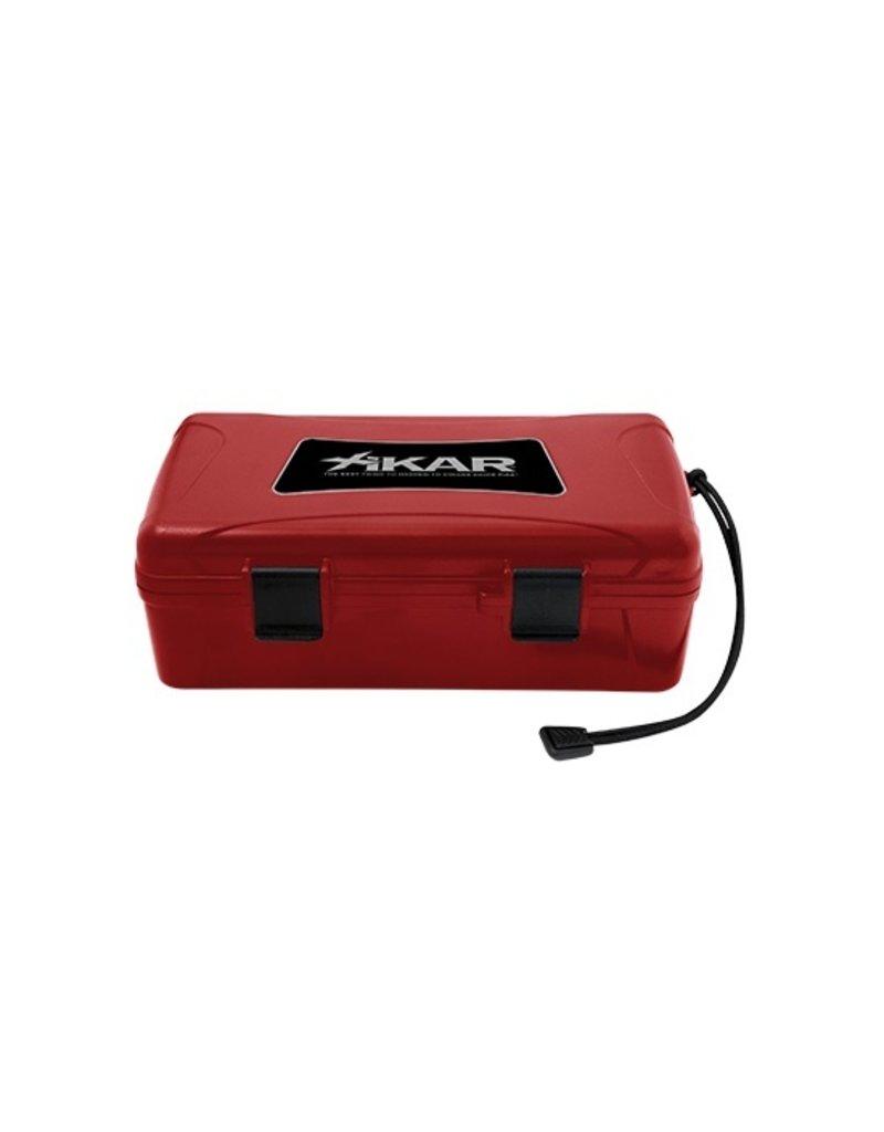 Xikar Xikar travelhumidor 10 cigars Red