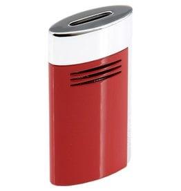 St. Dupont S.T. Dupont Megajet  lighter chrome red