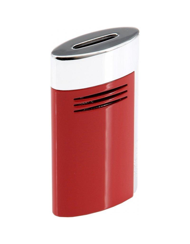 St. Dupont S.T. Dupont Maxijet  lighter chrome red