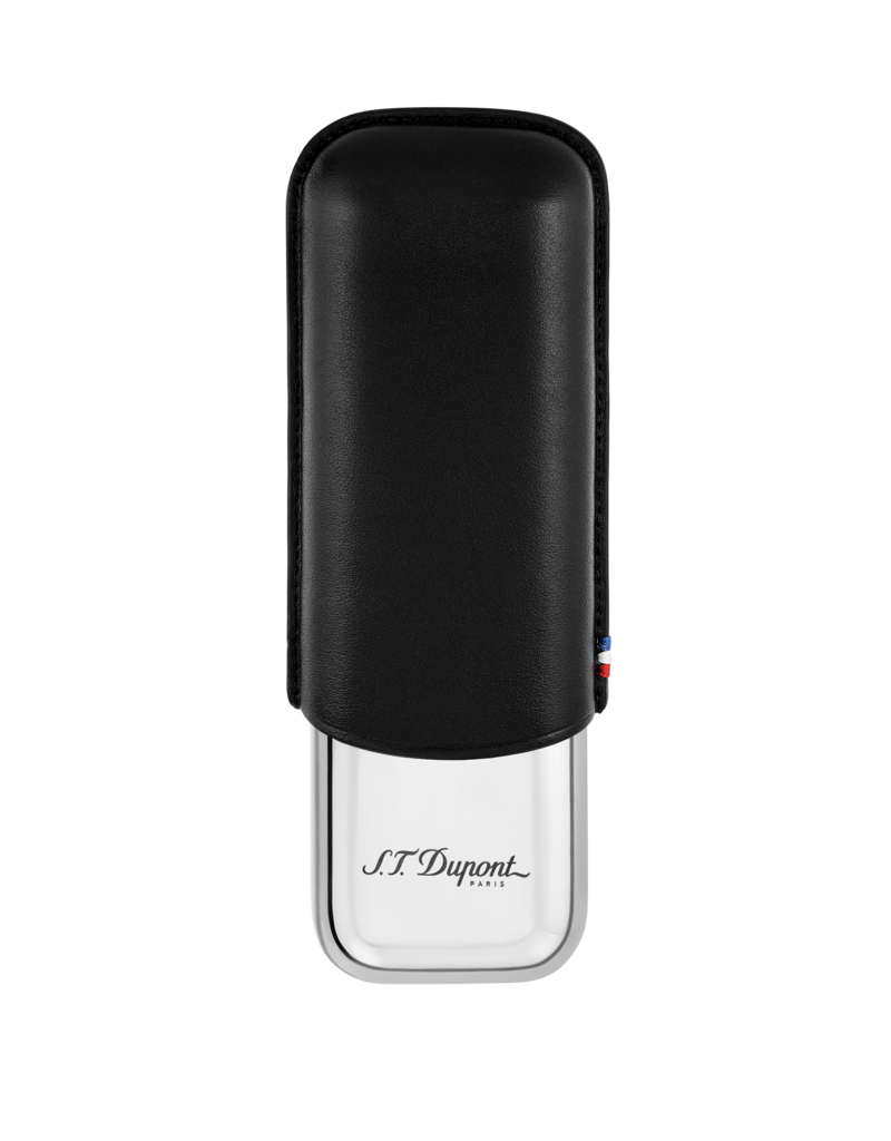 St. Dupont S.T. Dupont cigar case 2 cigars black