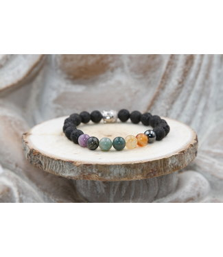 Luma Creation Bracelet ENFANT CHAKRAS & LAVE 8mm