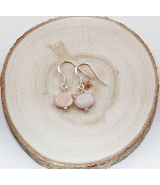 Luma Creation Boucles d'oreilles Chat Nacre Rose