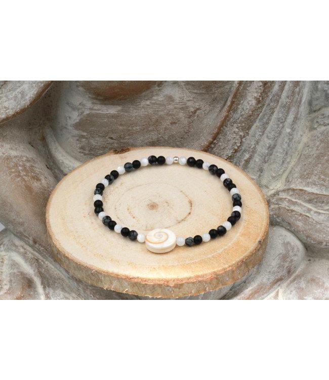 Bracelet OEIL DE SAINTE LUCIE Black