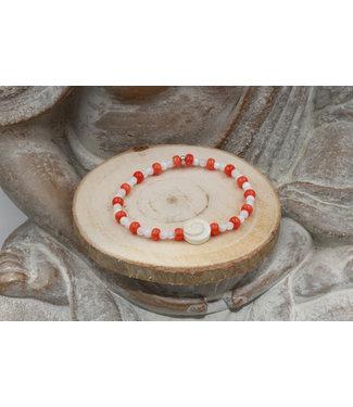 Luma Creation Bracelet OEIL DE SAINTE LUCIE Red