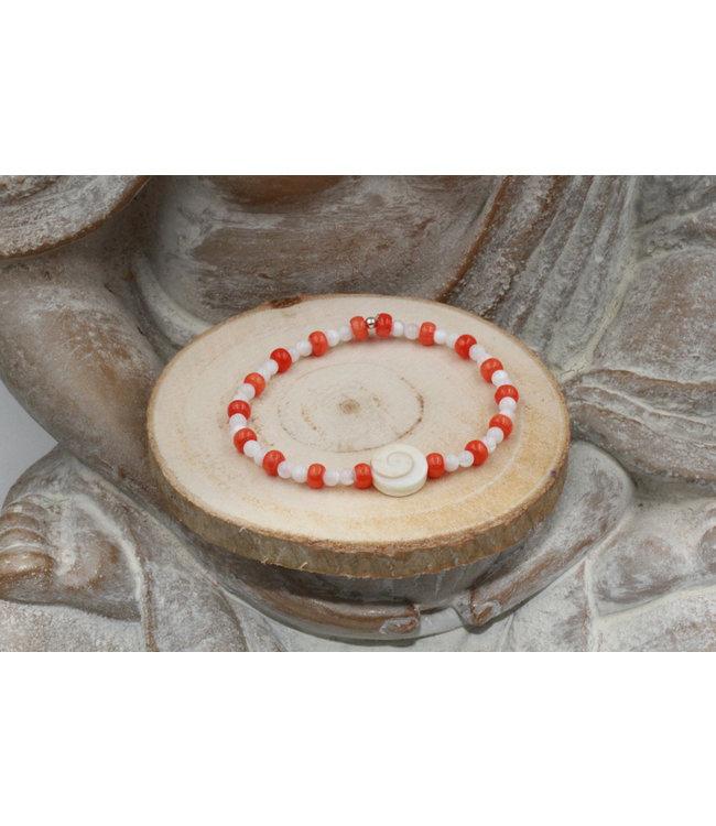 Bracelet OEIL DE SAINTE LUCIE Red