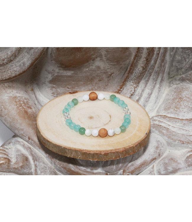 "Luma Creation Bracelet ""DIFFUSEUR"" Turquoise"