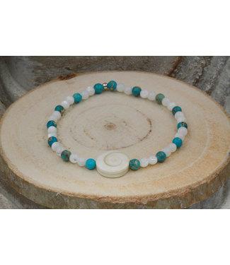 Luma Creation Bracelet OEIL DE SAINTE LUCIE Blue