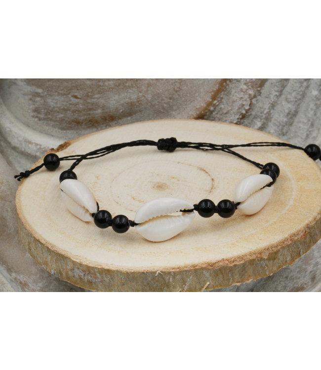 Bracelet Coquillage CAURI Black