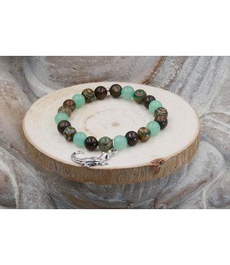 "Luma Creation Bracelet ""CAÏMAN"" 8 MM"