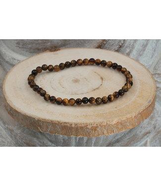 Luma Creation Bracelet Oeil de Tigre 4mm