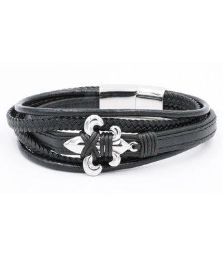 Bracelet homme cuir Lacé