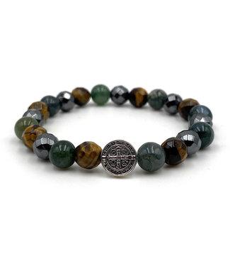 """Luma Creation Bracelet """"confiance en soi et protection """" 8mm"""