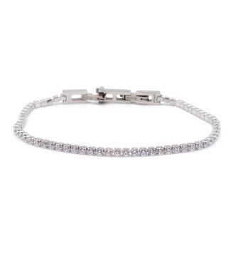 Fiell Bracelet Femme Strass Zircon 1 mm