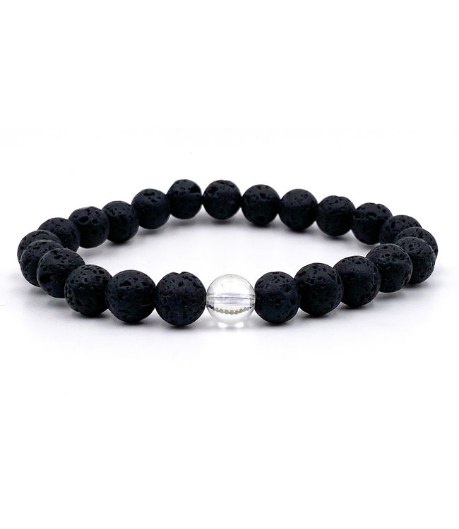 Bracelet Couple Homme Quartz Aura Angel