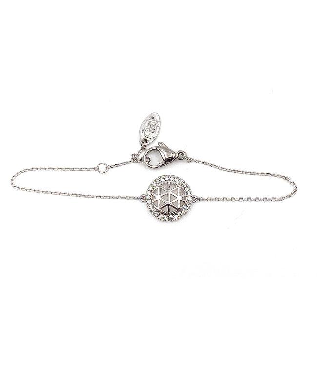 Bracelet Fleur de Vie CRYSTAL