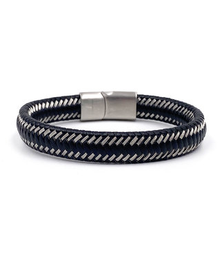 Bracelet Cuir Tissé