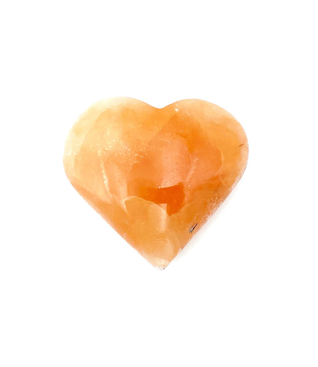 Coeur de SELENITE Orange