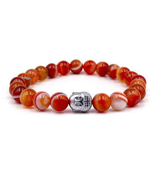 Bracelet Agate orange - enfant
