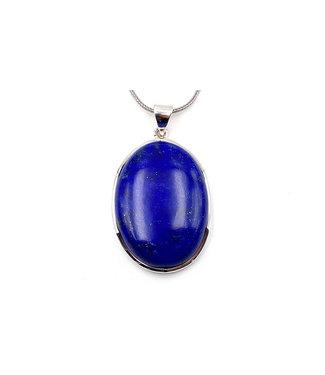 Pendentif Lapis Lazuli grand ovale
