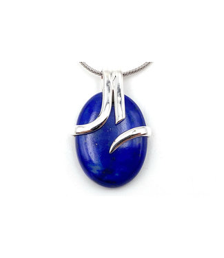 Pendentif Lapis Lazuli petit ovale