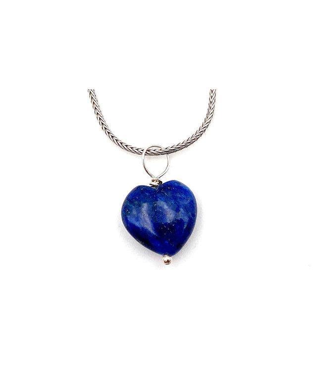 Pendentif Coeur Lapis Lazuli