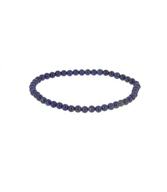Bracelet Lapis lazuli 4 mm