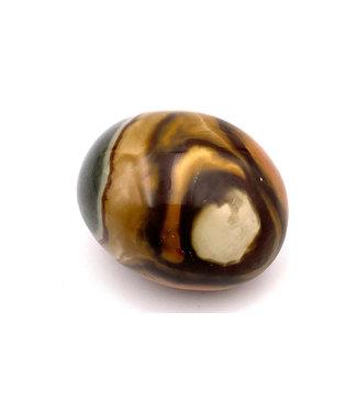 Jaspe polychrome pierre roulée