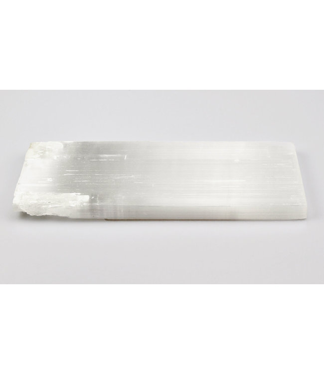 Plaque de selenite 15X35 cm