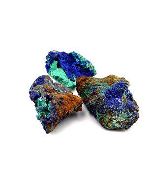 Azurite-Malachite brute