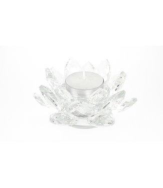 Lotus en cristal Feng shui