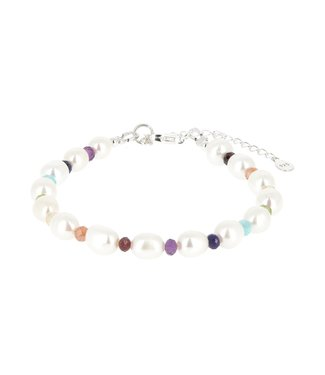 Bracelet 7 chakras Perles naturelles