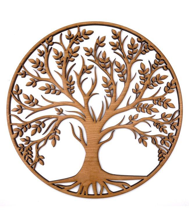 Arbre de vie en Bois de Cerisier