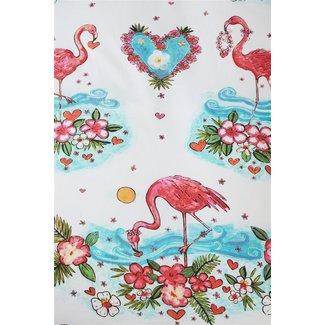 Beddinghouse Kids Dekbedovertrek Beddinghouse Kids Flamingo Flower