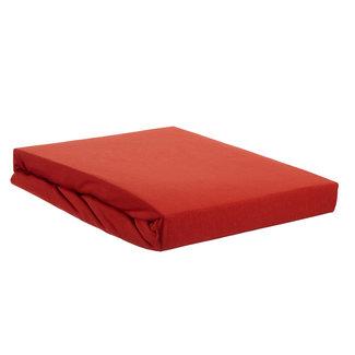 Beddinghouse Beddinghouse Premium Jersey Lycra Topper Hoelaken - Koraal Rood