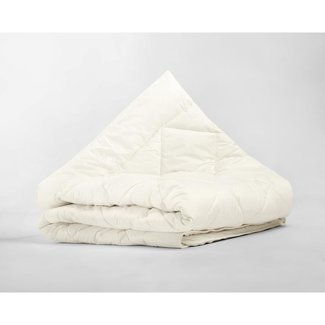 Sleeptime Enkel Dekbed - Percale Cotton Wool Touch Cream