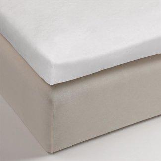 Beddinghouse Beddinghouse Premium Splittopper Molton Stretch  - Wit