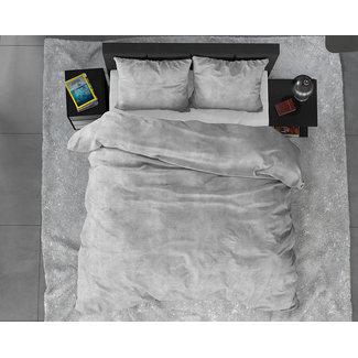 "Sleeptime ""2 halen = 1 betalen"" Dekbedovertrek Sleeptime FL Twin Washed Cotton Grey Flanel"