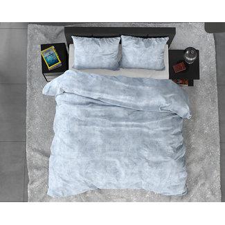 Sleeptime Dekbedovertrek Sleeptime FL Twin Washed Cotton Blue Flanel