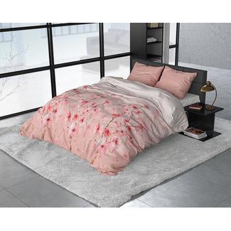 """Sleeptime """"2 halen = 1 betalen"""" Dekbedovertrek Sleeptime FL Flowers Lizzy Pink Flanel"""