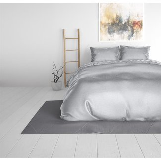 "Sleeptime ""2 halen = 1 betalen"" Dekbedovertrek Sleeptime Beauty Skin Care Dekbedovertrek Silver Silk Micropercal"