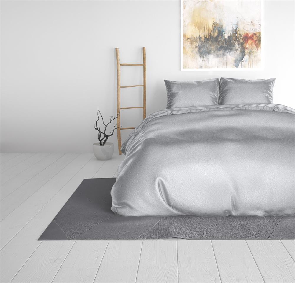 2 halen = 1 betalen Dekbedovertrek Sleeptime Beauty Skin Care Dekbedovertrek Silver Silk Micropercal