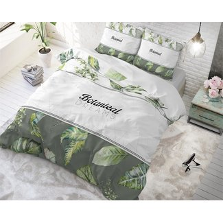 "Dreamhouse ""2 halen = 1 betalen"" Dekbedovertrek Dreamhouse Botanical Dreams White Katoen"