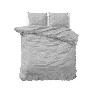 "Sleeptime ""2 halen = 1 betalen"" Dekbedovertrek Sleeptime Relax Grey Katoen Blended"
