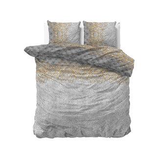 """Sleeptime """"2 halen = 1 betalen"""" Dekbedovertrek Sleeptime Chrone Grey Katoen Blended"""