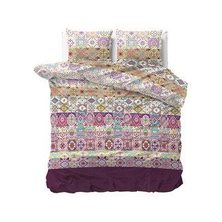 "Sleeptime ""2 halen = 1 betalen"" Dekbedovertrek Sleeptime Morocco Purple Katoen Blended"