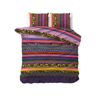 """Sleeptime """"2 halen = 1 betalen"""" Dekbedovertrek Sleeptime Mell Purple Katoen Blended"""