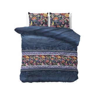 """Sleeptime """"2 halen = 1 betalen"""" Dekbedovertrek Sleeptime Paisley Blue Katoen Blended"""