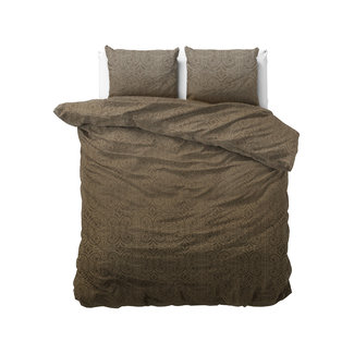 "Sleeptime ""2 halen = 1 betalen"" Dekbedovertrek Sleeptime Vintage Paisley Taupe Katoen Blended"